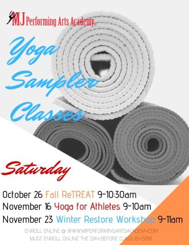 Yoga Sampler Classes