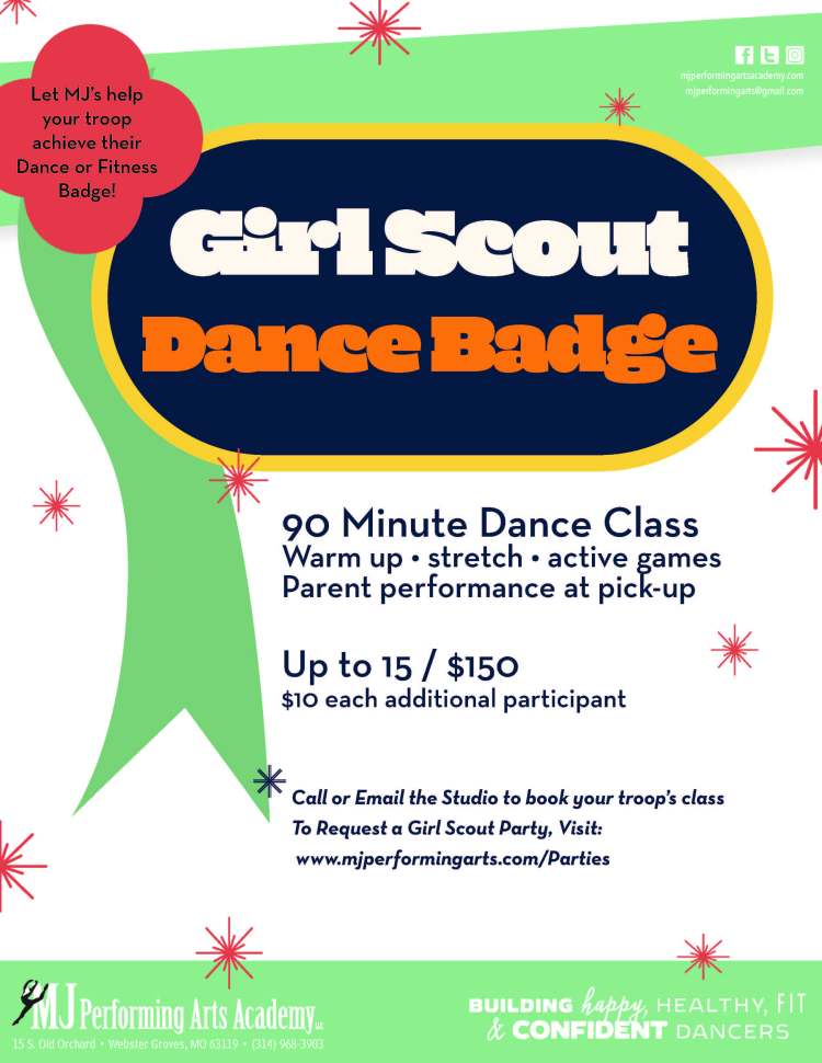 Spring 2021 Girl Scout Flyer